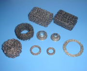 Compressed Knitted Mesh-Various Forms,  Disc,  Ring,  Images and Applicat
