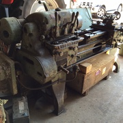 Heavy Duty Holbrook Metalworking Lathe