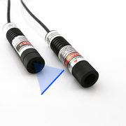 Wide Operating Temperature Use of 100mW Blue Line Laser Module